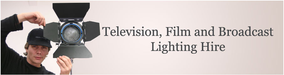 Television, Film and Broadcast Lighting Hire